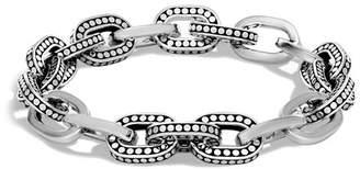 John Hardy Sterling Silver Dot Small Link Bracelet