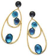 Ippolita 18K Rock Candy Double-Wire Mixed-Set Earrings in Midnight Rain