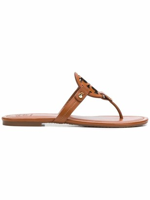 Tory Burch Sandals Leather Brown