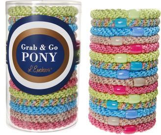 L. Erickson Grab & Go Pony Tube, Set of 15