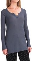 Yummie by Heather Thomson Baby Rib Shirt - V-Neck, Long Sleeve (For Women)