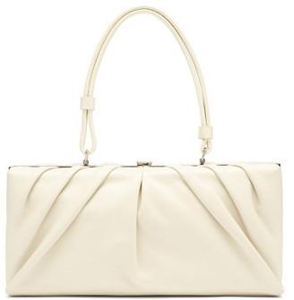 STAUD East Leather Shoulder Bag - Cream