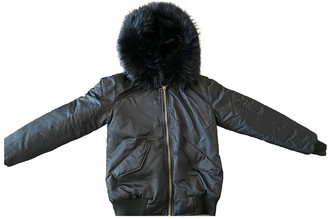 Ducie Black Synthetic Leather jackets