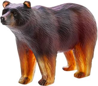 Daum Bear Sculpture