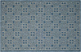 Safavieh Barna Outdoor Rug, Navy/Gray
