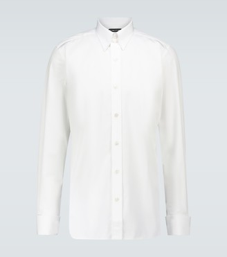 Tom Ford Cotton formal long-sleeved shirt