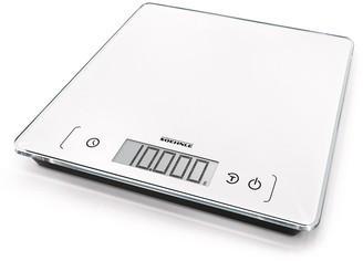 Soehnle Page Comfort 400 Glass Digital Kitchen Scale 10kg 26.5 x 26.5 White