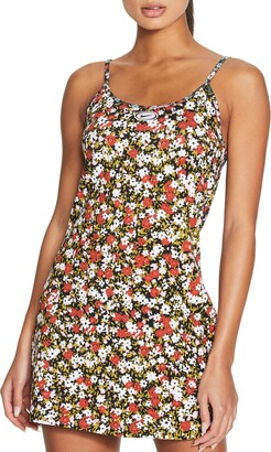 Nike Dual Ditsy Floral Print Camisole Dress