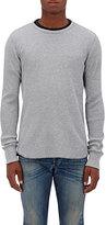 Rag & Bone Men's Standard Issue Waffle-Knit Cotton T-Shirt