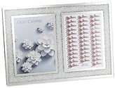 Oleg Cassini Picture Frame Crystals In A Mirrored Frame