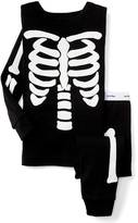 Gap Halloween glow-in-the-dark bones sleep set