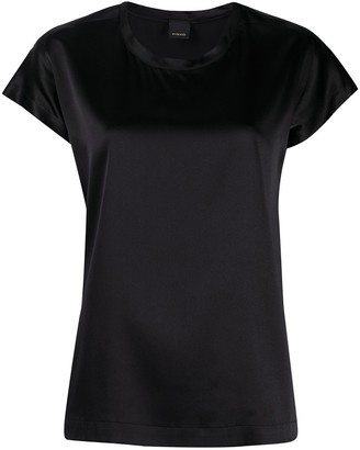 Pinko Farisa silk crew-neck T-shirt