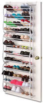 Sunbeam 12-Tier 36 Pair Overdoor Shoe Organizer