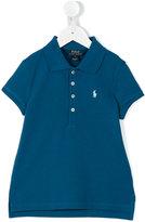 Ralph Lauren logo polo shirt - kids - Cotton/Spandex/Elastane - 2 yrs