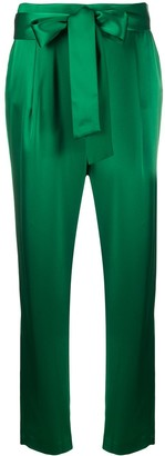 Alice + Olivia High-Rise Waist Tied Trousers
