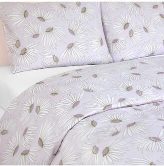 Kate Spade Falling Flowers Comforter 3-Piece Set - King - Candy Tuft
