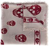 Alexander McQueen 'Skull' scarf - men - Silk/Modal - One Size