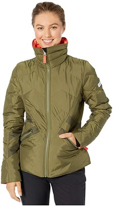 Obermeyer The Dusty Down Jacket (Military Time) Women's Coat