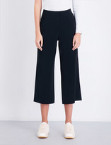 A.L.C. Enzo Gaucho high-rise wide-leg crepe trousers