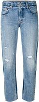 Levi's boyfriend-fit jeans