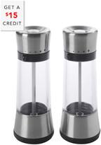 OXO Good Grips Lua Salt & Pepper Mill Set With $15 Rue Credit