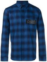 Givenchy tartan long sleeve shirt
