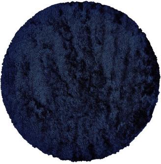 Freya Weave & Wander Rug, Dark Blue, 10' Round