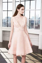 Marchesa Chiffon Party Dress
