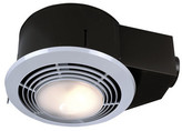 Broan 110 CFM Bathroom Fan with Heater and Light