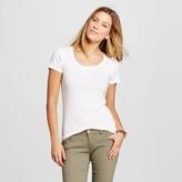 Merona Women's Fitted Scoop T-Shirt