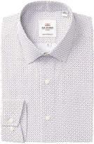 Ben Sherman Geo Print Soho Camden Tailored Skinny Fit Dress Shirt