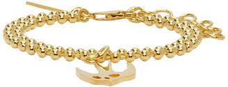 McQ Gold Swallow Bracelet