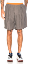 Kolor Contrast Waistband Shorts in Gray.