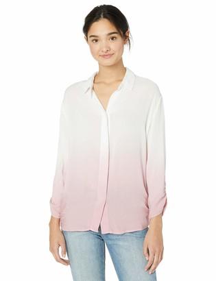 BB Dakota Women's Fade into You tie Dyed Shirt