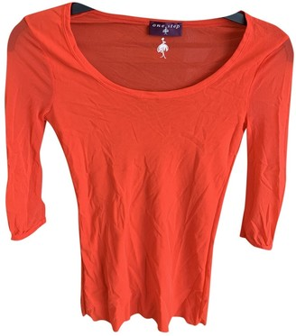 One Step Red Top for Women