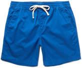 J.Crew Dock Stretch-cotton Shorts - Blue