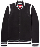 Givenchy Embroidered Wool-Blend Varsity Jacket