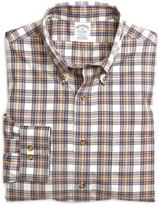 Brooks Brothers Non-Iron Slim Fit Plaid Check Sport Shirt