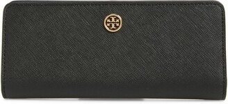 Tory Burch Robinson Saffiano Leather Continental Wallet