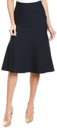 St. John Sculped Milano Pencil Skirt