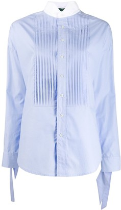 Jejia Pleated Bib Shirt