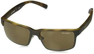 Arnette Men's AN4250 Silentio Rectangular Sunglasses
