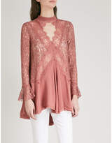 Free People Tell Tale lace tunic