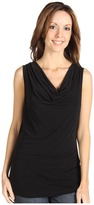 Calvin Klein Cowl Neck Sleeveless Top Women's Sleeveless