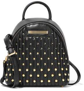 Donna Karan Mini Studded Quilted Leather Backpack