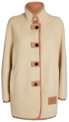 Chloé Shearling-Leather Coat