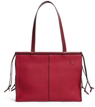 Loewe Leather Cushion Tote Bag