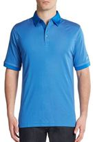 Callaway Contrast Paneled Polo Shirt