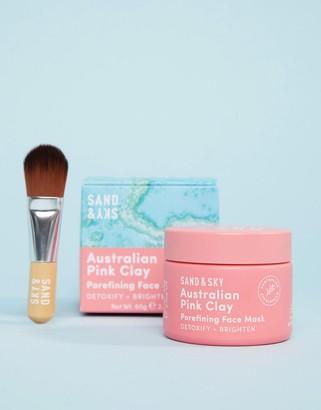 Sand & Sky Australian Pink Clay - Porefining Face Mask - US-No Color