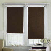 JCP HOME JCPenney HomeTM Saratoga Cut-to-Width Unfringed Blackout Roller Shade - FREE SWATCH
